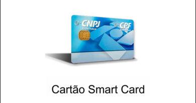 Cartão smartcard e-CPF e-CNPJ para certificado digital A3 Gemalto